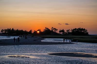 Twilight Sandy Hook Bay
