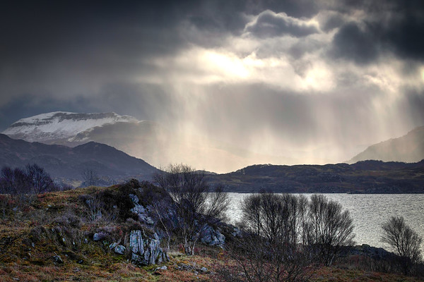 Sunshine and Showers, Loch Sunart