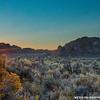 September Sunset at Fort Rock