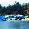 HDR & Long Exposure of Falls at CH Power plant Wallkill river Rifton NY.