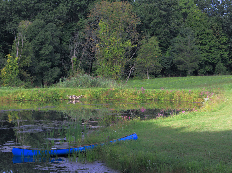 September morning in Ulster County New York