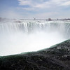 Niagara Falls on the Canadian side. What a rush. The sound was deafening. I was 20 feet from the water!