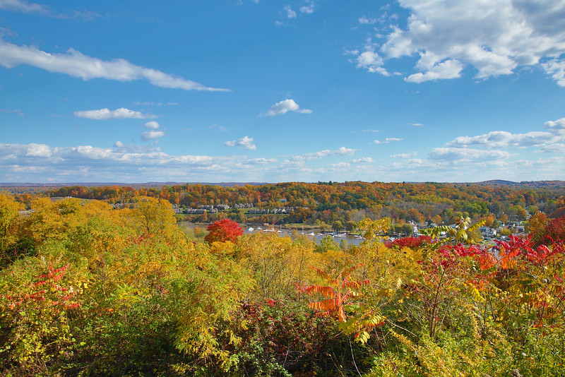 Fall 2012 in Kingston NY over looking the rondout