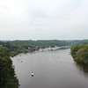 Lower Rondout Creek view from old Port Ewen bridge. Best viewed at O or XL