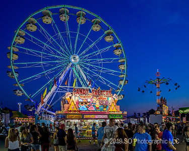 Candy Factory & Ferris Wheel 2016