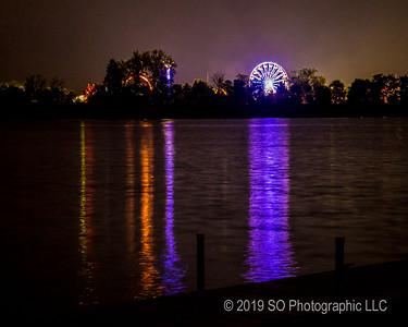 4H Fair Over Fidler Pond