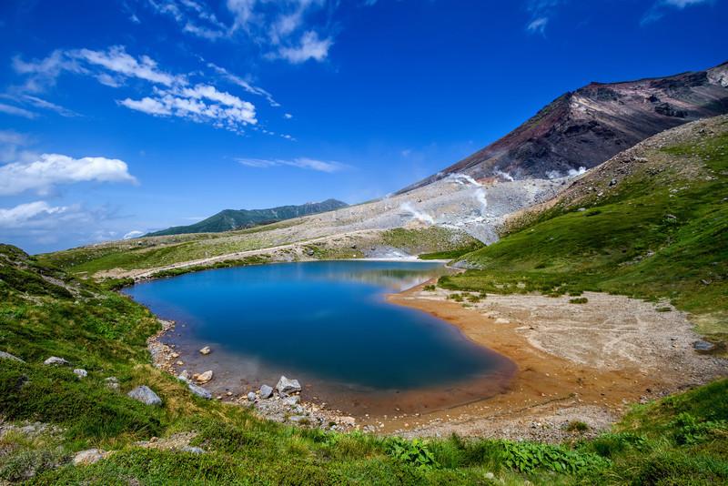 The Blue Pond of Asahidake
