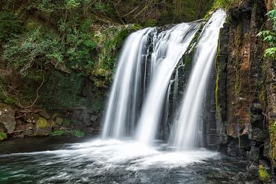 One of Seven One of the 7 waterfalls in Kawazu Nanadru in Izu