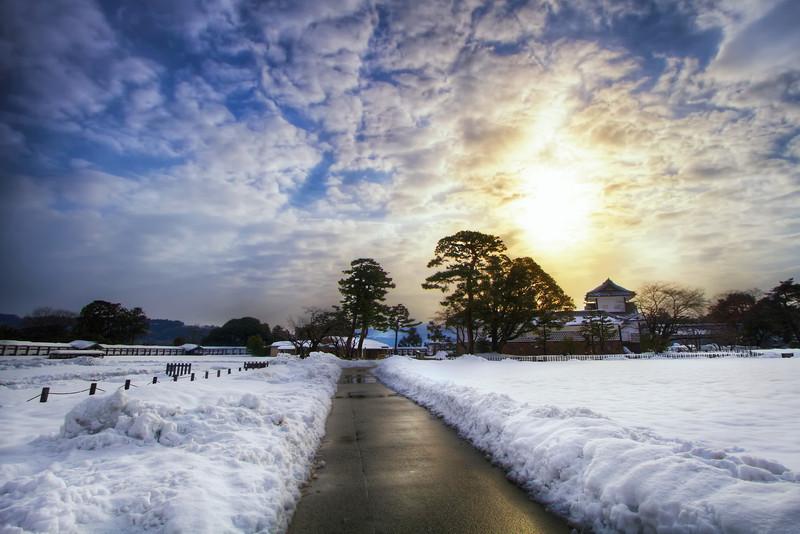 Sunrise at Kanazawa