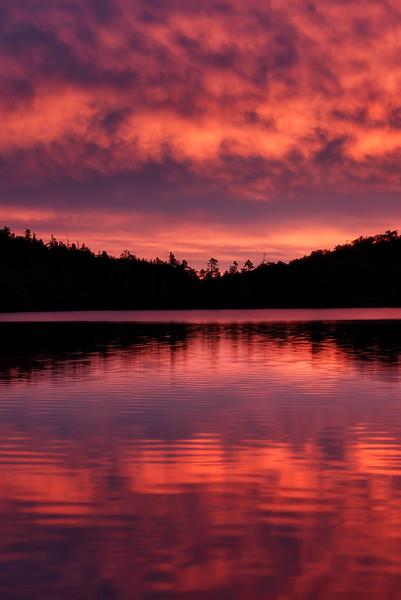 Shirakoma Pond Sunrise