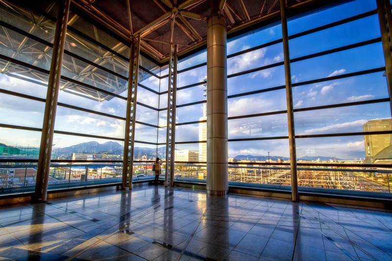 Viewing Deck of Higashi-Shizuoka Station