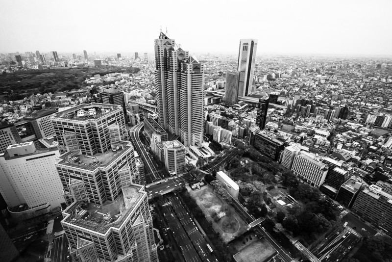 Hazy Tokyo