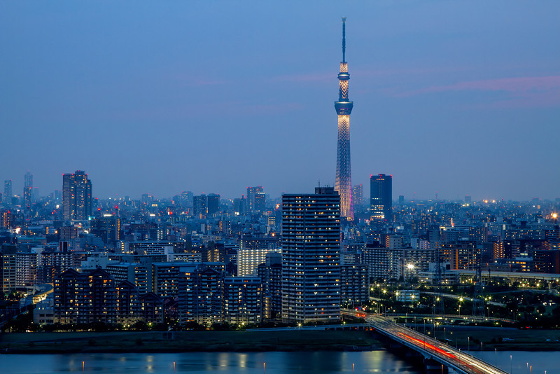 The Road to Sky Tree