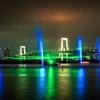 Rainbow Bridge Light Show