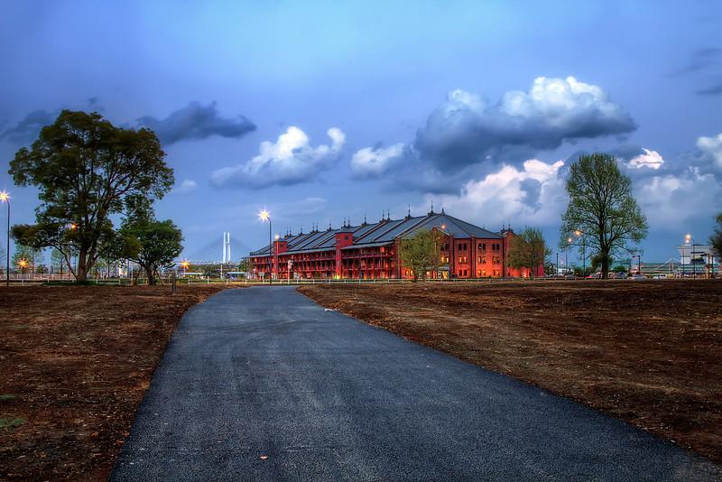 Road to Aka Renga