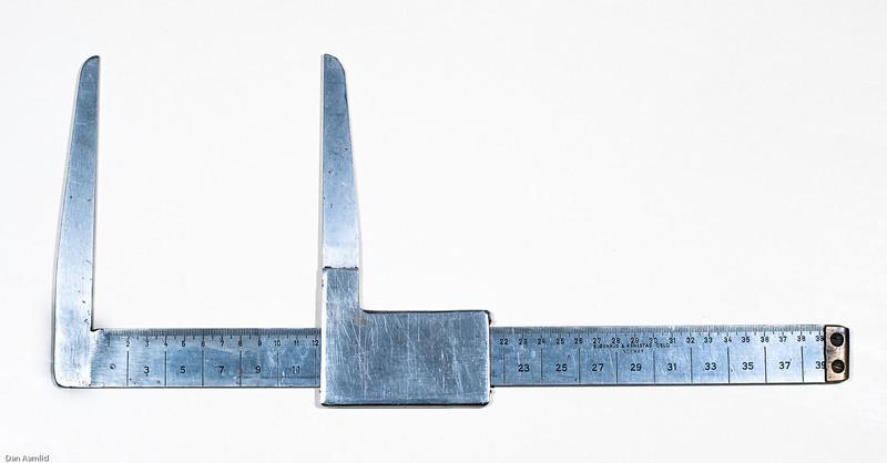 Klave for måling av trediameter