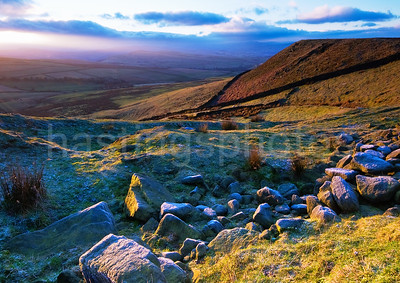 Cown Edge, Peak District, Derbyshire