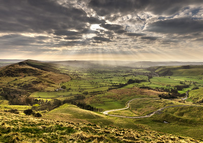 Hope Valley from Mam Tor