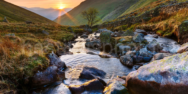 Hayeswater Gill, Lake District