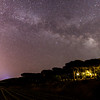 Milkyway above Saint-Tropez