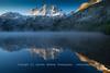 Silver Lake Morning Evaporation Fog