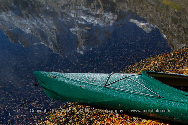 Frosty Morning Fisherman's Canoe