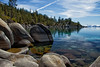 Lake Tahoe Banded Rocks