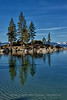 Lake Tahoe Tree Reflections
