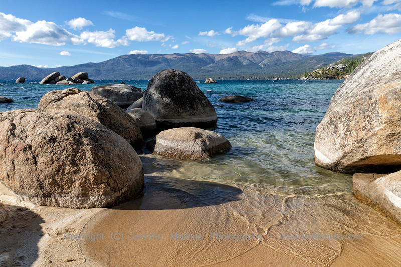 Sand Harbor Invites You into the Water