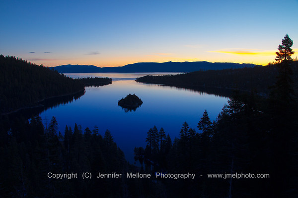 Lake Tahoe - Emerald Bay at Sunrise