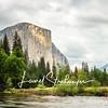 Yosemite Waterfall Vista Pano