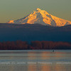 Mount Hood Columbia River Sunset