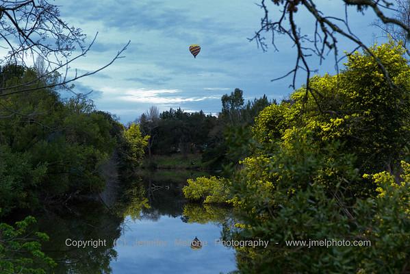 Napa River Balloon - Horizontal