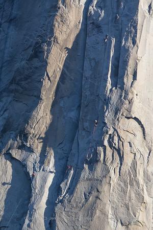 El Capitan Spring Climbers
