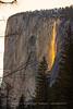 Horsetail Fall Firefall on El Capitan