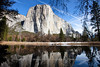 Full View of El Capitan by Merced River