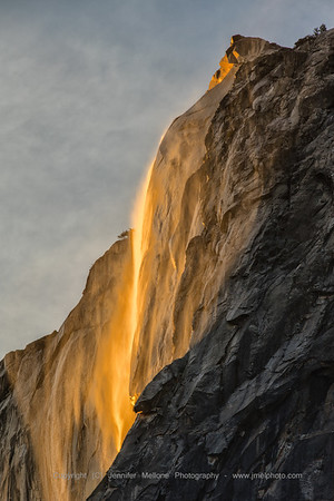 Horsetail Fall Sunset