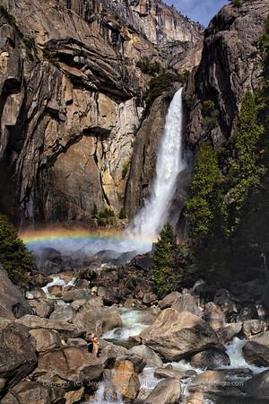 Lower Yosemite Fall Rainbow