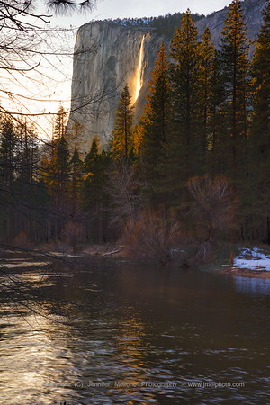 Firefall Reflects on River
