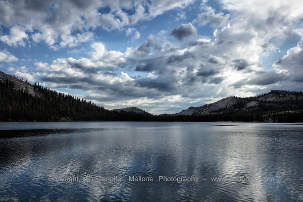 Tenaya Lake Before Thunderstorm