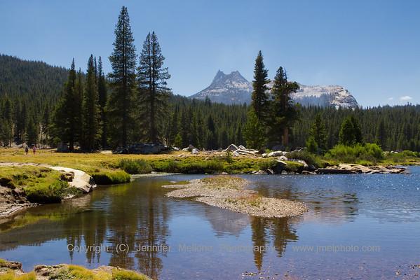 Cathederal Peak Reflection - Horizontal