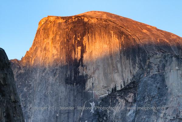 Last Light on World Famous Granite
