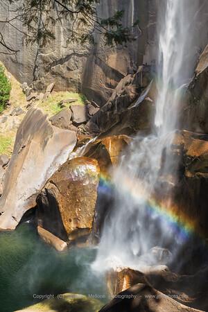 Dry Season Vernal Falls Rainbow