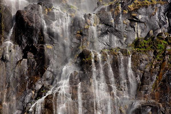Bridalveil Fall Streams