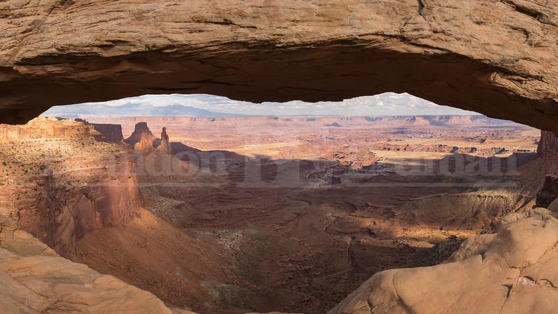 Mesa Arch Panorama