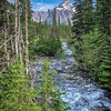 Mountain stream in Yoho National Park, Canada