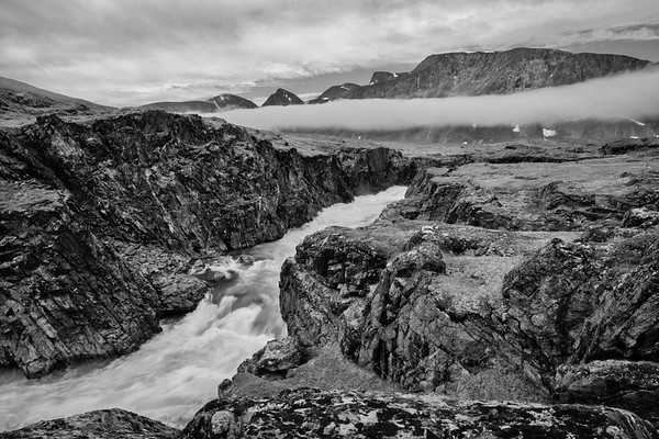 Landscapes in Eclipse Bay, Torngat National Park, Labrador