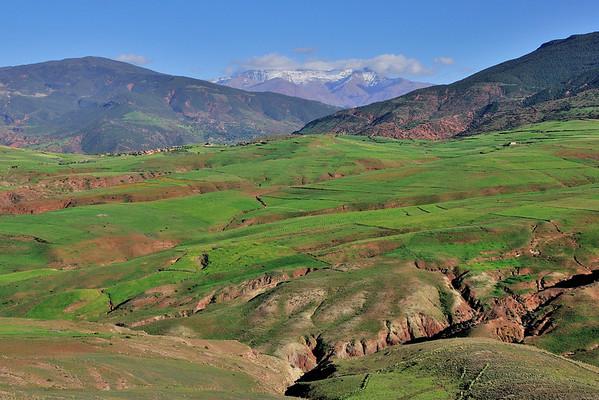 Moroccan Mountain Vista
