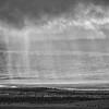 Summer rain storm over the McKinley River gravel bar, Denali National Park, Alaska