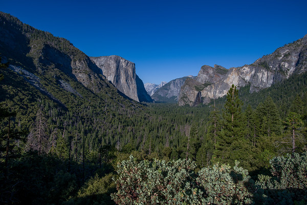 Tunnel View at Yosemite